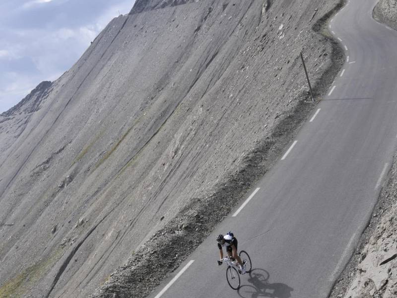 cycling cols bonette cayolle allos