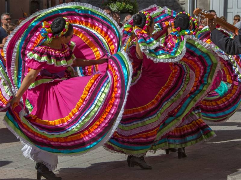 Mexicaanse festivals in Barcelonnette