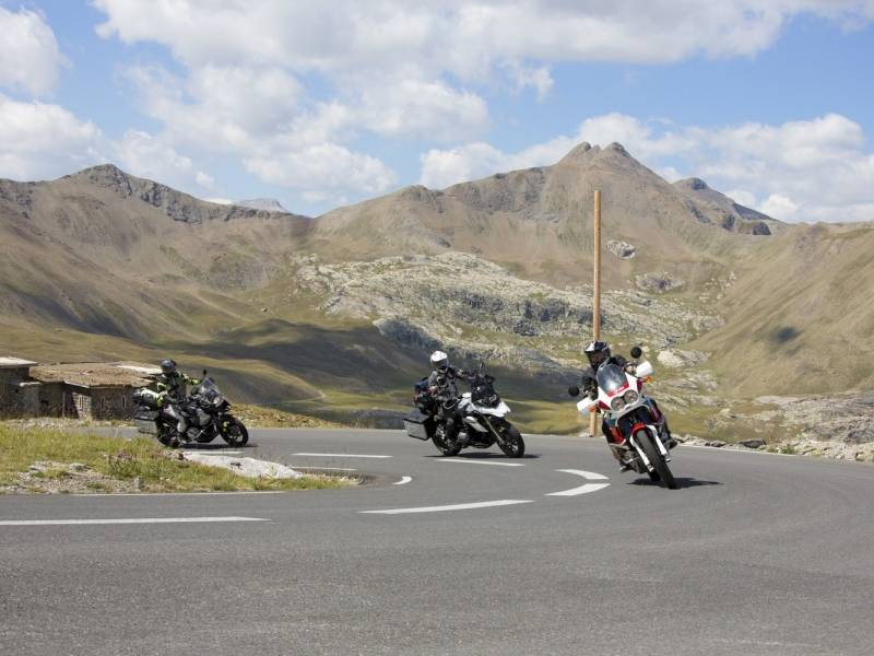 motorcycle trip pass ubaye