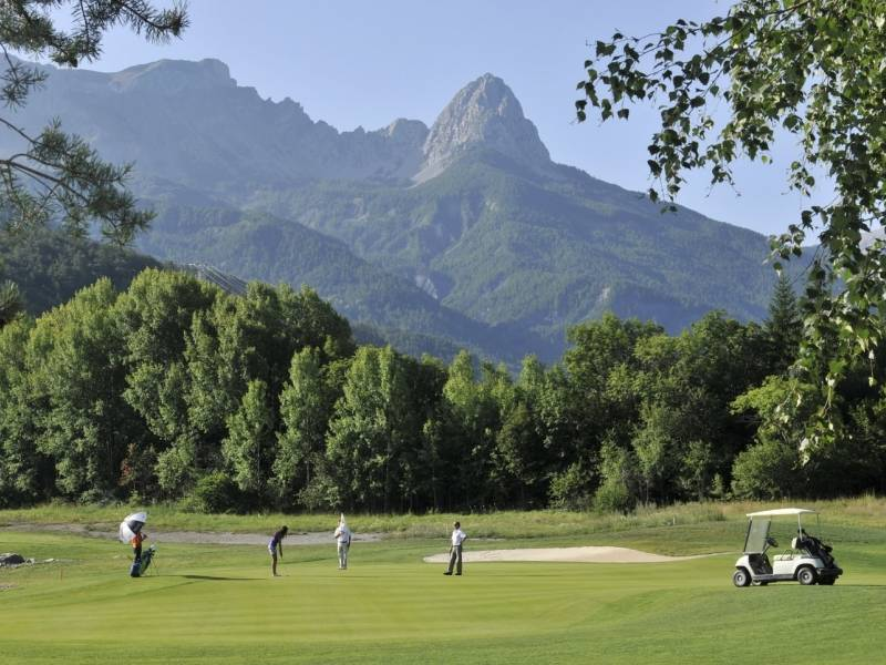 golf barcelonnette
