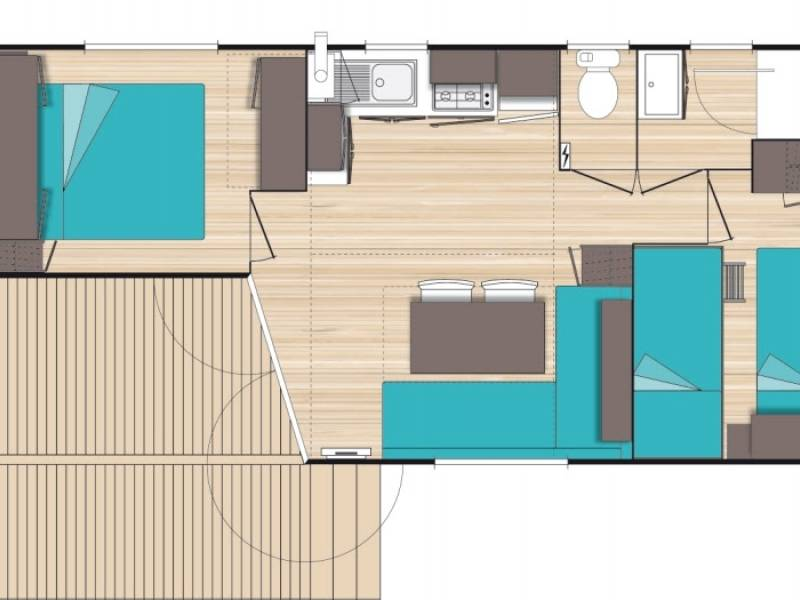confort accomodation mobil-home